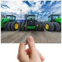 "Tractors Green Agriculture Small Photograph 6"" x 4"" Art Print Photo Gift #15545"