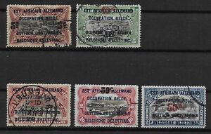 Ruanda-Urundi - 1922 - COB 45/9 - Used -