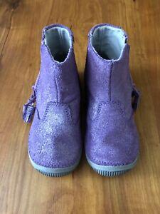 New with box purple Stride Rite Zoe boots size 7.5