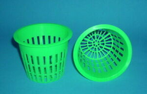 """3""""  NET CUP POTS 2 /6 / 25 / 50 / 100  FOR HYDROPONIC GROW BOX SYSTEM"""