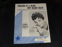 "Vintage 1961 Original Sheet Music "" Breaking In  A Brand New Broken Heart  """