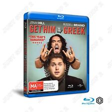 Get Him To The Greek : Jonah Hill & Russell Brand : New Blu-ray