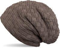 styleBREAKER bonnet beanie chaud en maille fine avec motif tressé