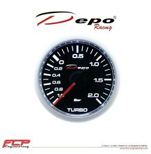 DEPO RACING DIGITAL TURBO BOOST GAUGE 2 BAR CSM-W5201B 52mm / LADEDRUCK ANZEIGE