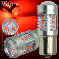 2X LAMPADA LED Stop Freni BA15S 1156 P21/5W 15 SMD 2835 CAMBUS Rosso No Errore
