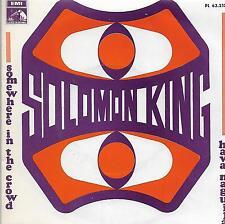 "SOLOMON KING 7""PS Spain1968 Hava Naguila / Somewhere in the crowd PROMO"
