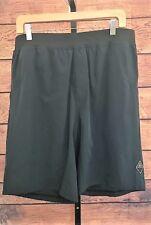 PRANA Mens Black Stretch Zion Shorts Elastic Waist size XL NWT