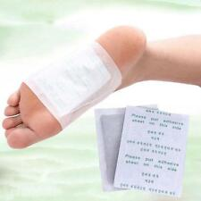 10 Pack Detox Foot Patch Pads Natural Plant Toxin Removal 10 Sticky Adhesives