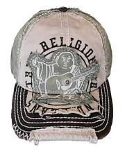 New True Religion Big Buddha Distressed Army Trucker Hat Cap / Tr#1101 (Grass)