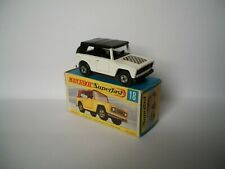 Matchbox Superfast Nr. 18a Field Car  WEISS   mit OVP  mint/boxed