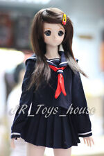 1/3 BJD Dolls Sailor Uniform Set Navy fit Volks SD DD Dollfie Dream