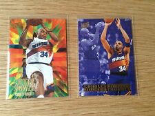 Charles Barkley  NBA Basketball rare insert trading cards X2