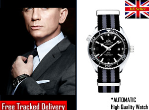 No Time to Die Spectre Watch James Bond 007 Daniel Craig Style Skyfall Automatic