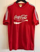 VTG 70's Jelenk by ASICS Coca Colo Logo T Shirt Soccer Jersey #2 Stripes M Japan