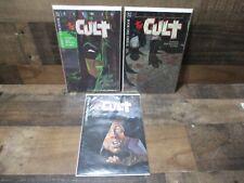 Lot of 3 DC comics batman the cult comic books 1 3 4 great shape