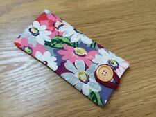 Handmade Fabric Glasses / Sunglasses Case / Pouch -  Cath Kidston Painted Daisy