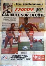 L'Equipe Journal 25/7/1995; Jalabert double Indurain/ Pérec à Monaco/ Scifo