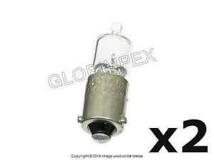 "BMW E39 (1997-2000) Bulb Parking Light 12V - 6W  ""Longlife Bulb"" (2) + Warranty"