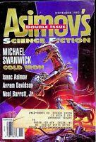 Vtg Isaac Asimov's Science Fiction Magazine  Nov 1993 Michael Swanwick m746