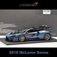 Original 1:18 1:43 2018 Mclaren Senna Super Sports Resin Model Car Collection