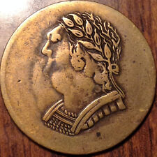 1820 LOWER CANADA HALF PENNY TOKEN BUST AND HARP IN GREAT CONDITION !