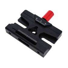 iShoot IS-JZ85MFT Metal Quick Release Plate Clamp Fits RRS/Arca-Swiss/Manfrotto