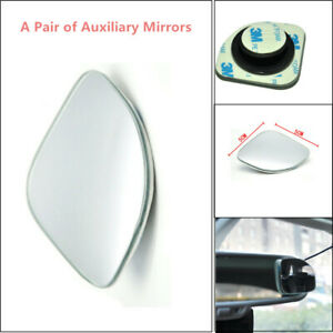 Glass Left and Right Side Fan-shaped Blind Spot Universal Wide-view Mirrors Nice