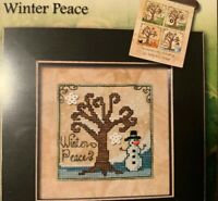 Stoney Creek Pattern Of The Month Series PM5004 - Winter Peace- Cross Stitch