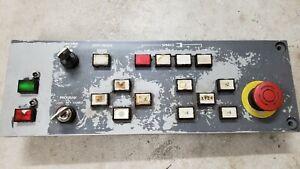Mazak FH-480 Operation panel  4YZ11B-3 with Mitsubishi QY904A