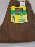 Wrangler Men's Cowboy Cut Jean Black Whiskey Slim Fit  28 x 34