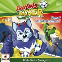 TEUFELSKICKER - 075/KAMPF DER MASKOTTCHEN!   CD NEW