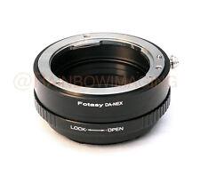 Pentax DA lens to Sony E-Mount adapter Aperture Control NEX7 NEX6 NEX5R NEX5N