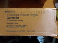 Genuine Oem Pitney Bowes 627-2 Gummed Postage Meter Tape 6 rolls new