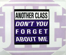 ANOTHER CLASS - Don't you forget about me 4TR CDM 1993 EURODANCE