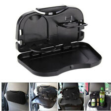 Folding Car Back Seat Table For Drink Food Cup Tray Rack Holder Stand Black Hot