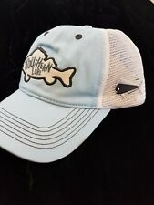 Southern Lure Snapback Patch Trucker Hat Blue Fish OSFA NWT