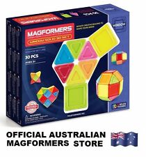Genuine MAGFORMERS Window 30 Solid Set - 3D Magnetic construction