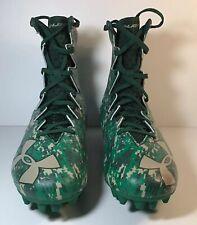 Under Armour Highlight Mc Le Football Cleats Camo Green Sz 9 1289771-312