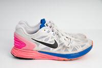 Nike Lunarglide 6 Athletic Running Shoes 654434-101 Women's Size US 8 / EU 39