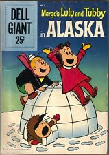 Marge's Lulu and Tubby in Alaska Dell Giant Comic Book #1 Dell 1959 VERY GOOD