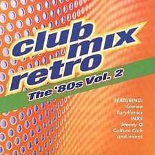 Various Artists Club Mix Retro 80s 2 CD