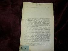 Libro Antico 1898 Sismologia Bollettino dei Terremoti Città di Castello - Cagli