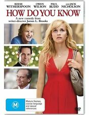 How Do You Know (Reece Witherspoon & Owen Wilson) DVD (Region 4)