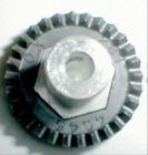 "33 Tooth Coxaloy Crown Gear & Set Screw 48 Pitch 1/8"" Axle Vintage Slot Car NOS"