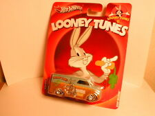 2013 Hotwheels Nostalgia LOONEY TUNES BUGS BUNNY  DAIRY DELIVERY  real riders RR