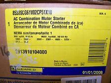 Square D AC combination motor starter 8538SCG61V02CP51X10