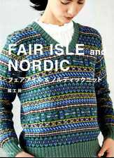 Kazekobo FAIR ISLE and Nordic KNITTING Items - Japanese Craft Book