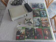 Xbox 360 Set Konsole x Box mit Spielen