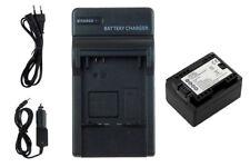 Batterie+Chargeur BP-718 pour Canon LEGRIA HF M52 M56 M506 R36 R37 R38 R46 R47