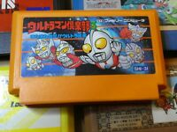 GAME/JEU FAMICOM NINTENDO NES JAPANESE Ultraman Club 3 SHI-3I JAPAN **